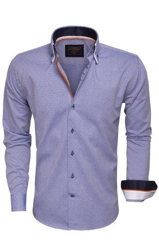 Wam Denim Shirt Long Sleeve 75407 Royal Blue