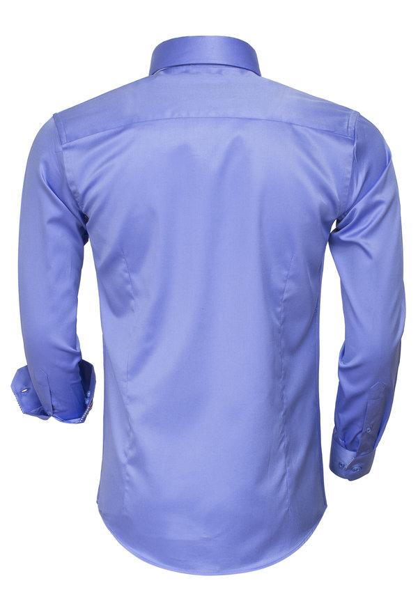 Overhemd Lange Mouw 75480 Blue