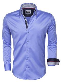 Wam Denim Shirt Long Sleeve 75480 Blue