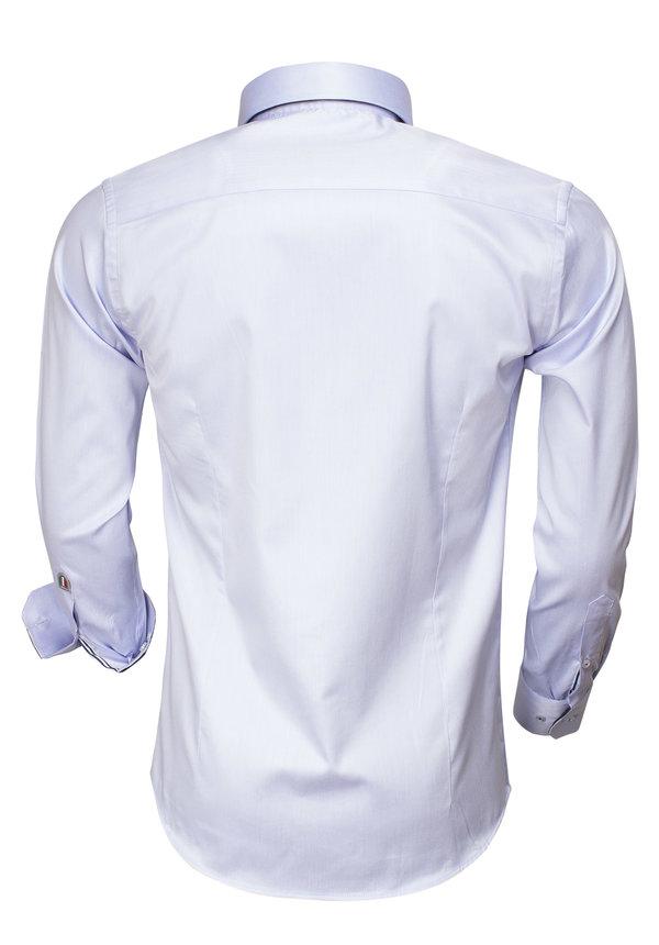 Overhemd Lange Mouw 75400 Light Blue
