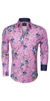 Overhemd Lange Mouw 75274 Pink