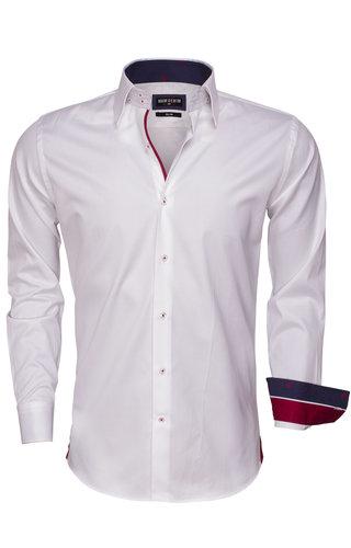 Wam Denim Shirt Long Sleeve 75468 White