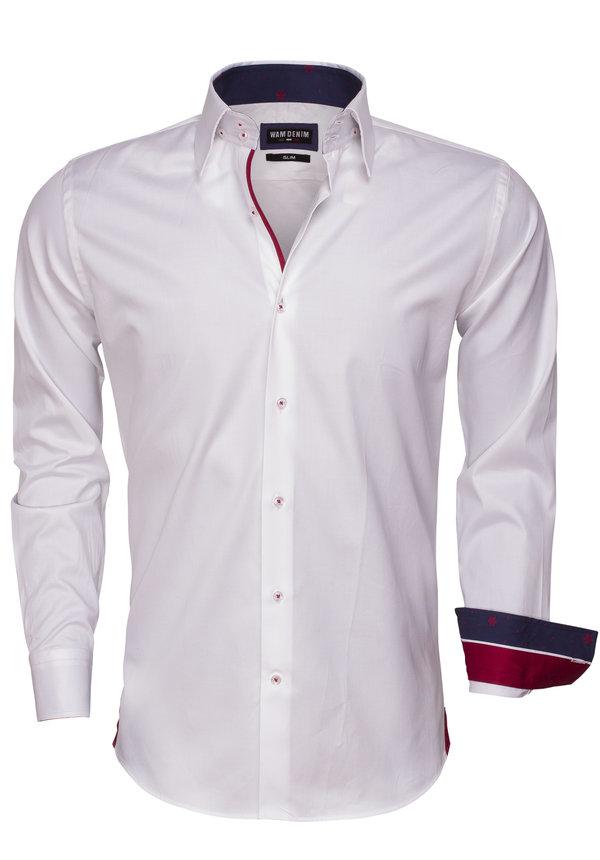 Overhemd Lange Mouw 75468 White