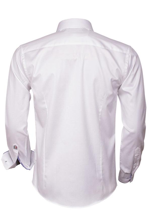 Overhemd Lange Mouw 75287 White