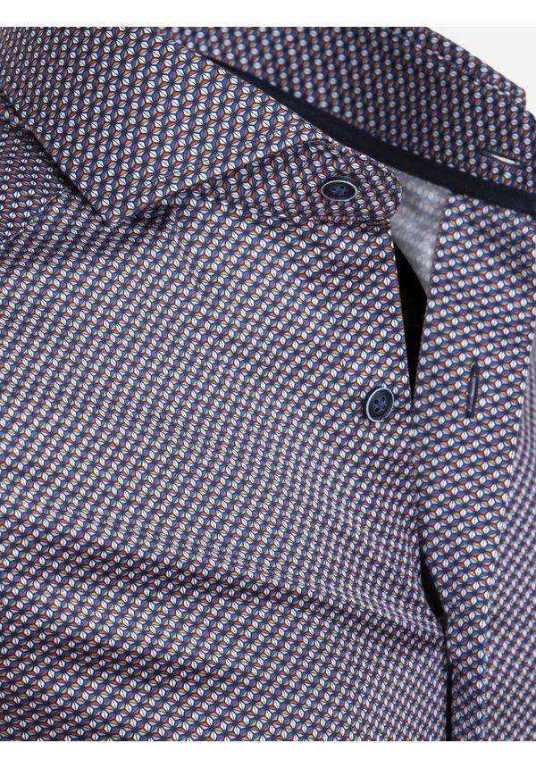 Overhemd Lange Mouw 75641 Almeirim Navy