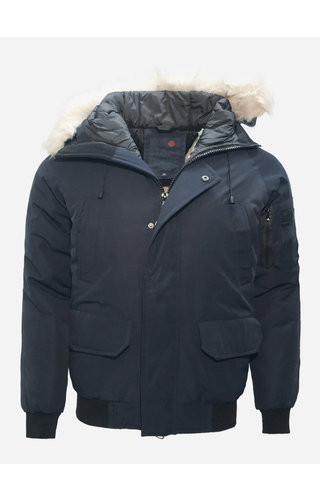 Just Key Winter Coat 1803 Blue