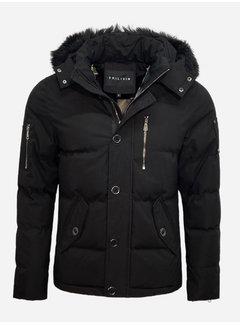 Arya Boy Winter Coat FD832-1 Black