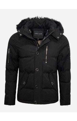 Frilivin Winter Coat FD832-1 Black