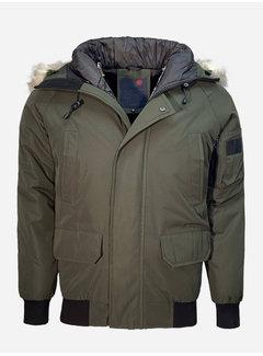 Arya Boy Winter Coat 1803 Green