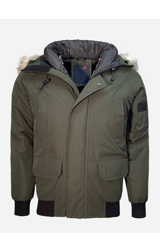 Just Key Winter Coat 1803 Green