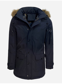 Arya Boy Winter Coat PI-7102 Blue