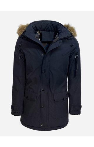 Enos Winter Coat PI7102 Blue