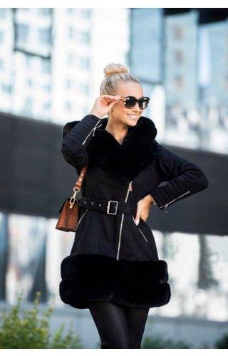 Winter Coat Ladies YDH2006 Black