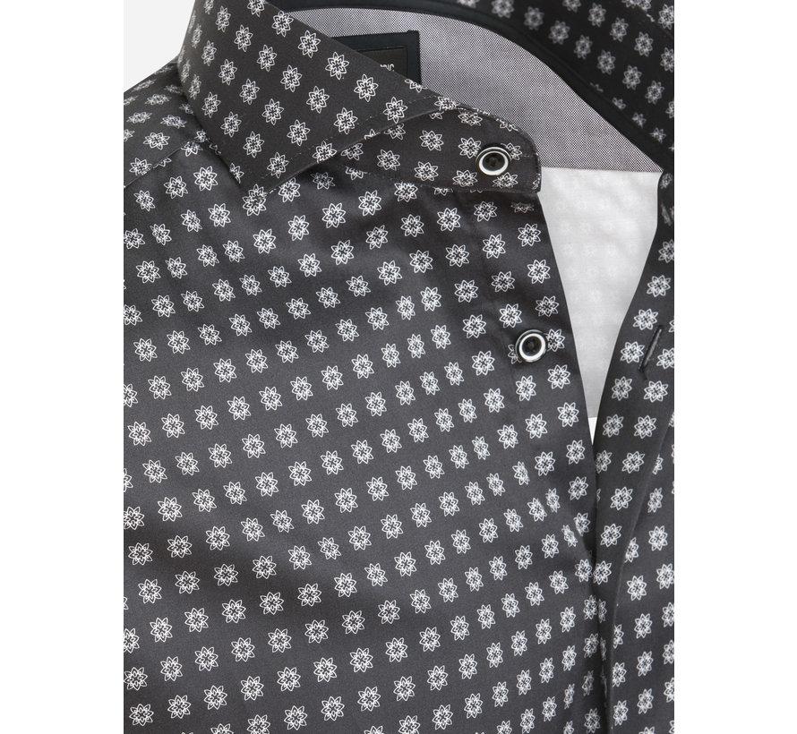 Overhemd Lange Mouw Barreiro Black