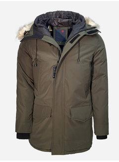 Arya Boy Winter Coat 1805 Green