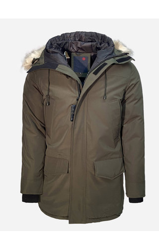 Just Key Winter Coat 1805 Green