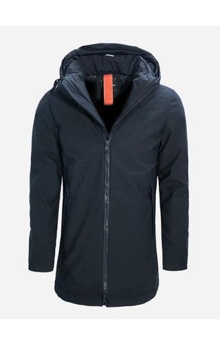 Warren Webber Winter Coat WW8918BPM Dark Blue