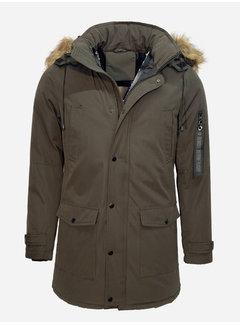 Arya Boy Winter Coat PI-7102 Army Green