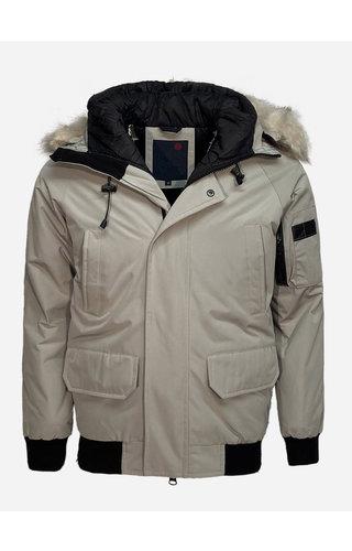 Just Key Winter Coat 803 Light Grey