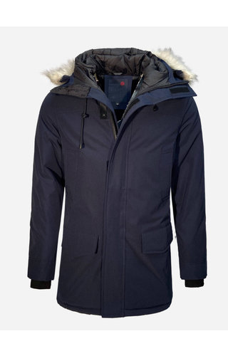 Just Key Winter Coat 1805 Blue