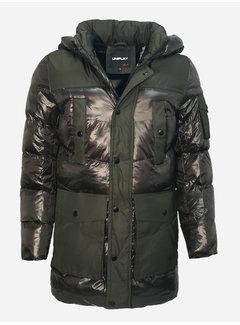 Arya Boy Winter Coat 99532 Green