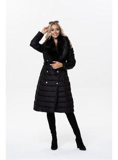 Winterjas Dames OMDL-005 Black