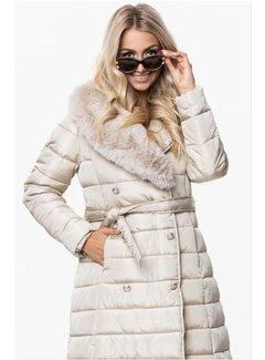Arya Boy Winter Coat Ladies OMDL-001 Champagne