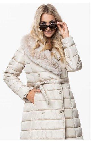 Ann Gissy Winter Coat Ladies OMDL-001 Champagne