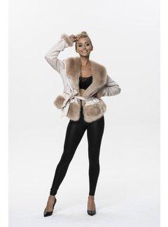 Arya Boy Winter Coat Ladies K0327 Ann Gissy Champagne