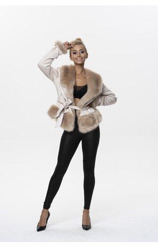 Ann Gissy Winter Coat Ladies K0327 Ann Gissy Champagne
