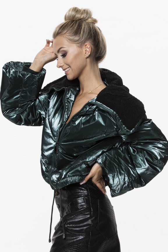 Ann Gissy Winterjas Dames J9-006 Green Maat: XL