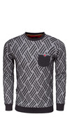Sweater 76160 Black Anthracite