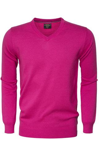 Wam Denim Sweater 77201 Fuchsia