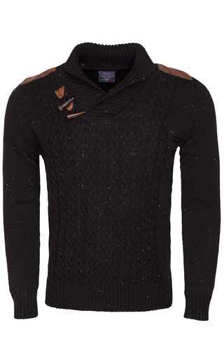 Wam Denim Sweater 87020 Black