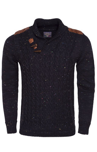Wam Denim Sweater 87020 Navy