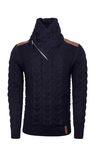 Wam Denim Sweater 77217 Navy