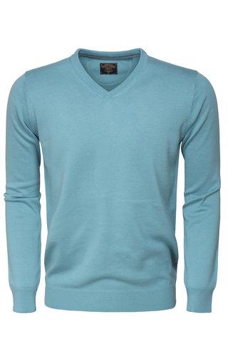 Wam Denim Sweater 77201 Turquoise