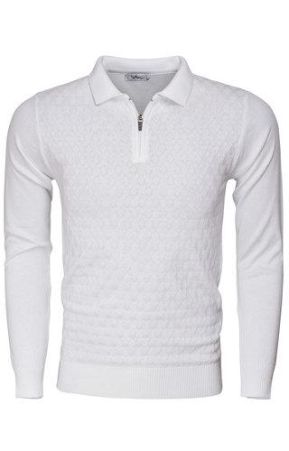 Wam Denim Sweater 77208 White