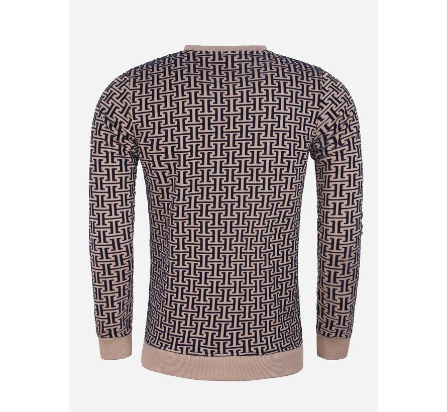 Sweater 66101 Koniz Beige