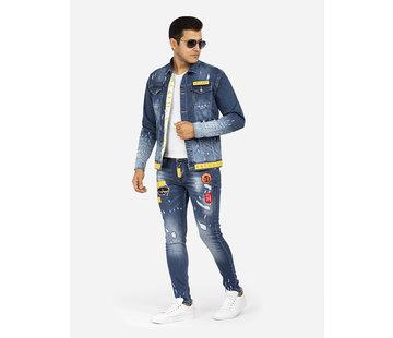 Arya Boy Jeans 82091 Light Navy