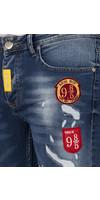 Jeans 82091 Light Navy