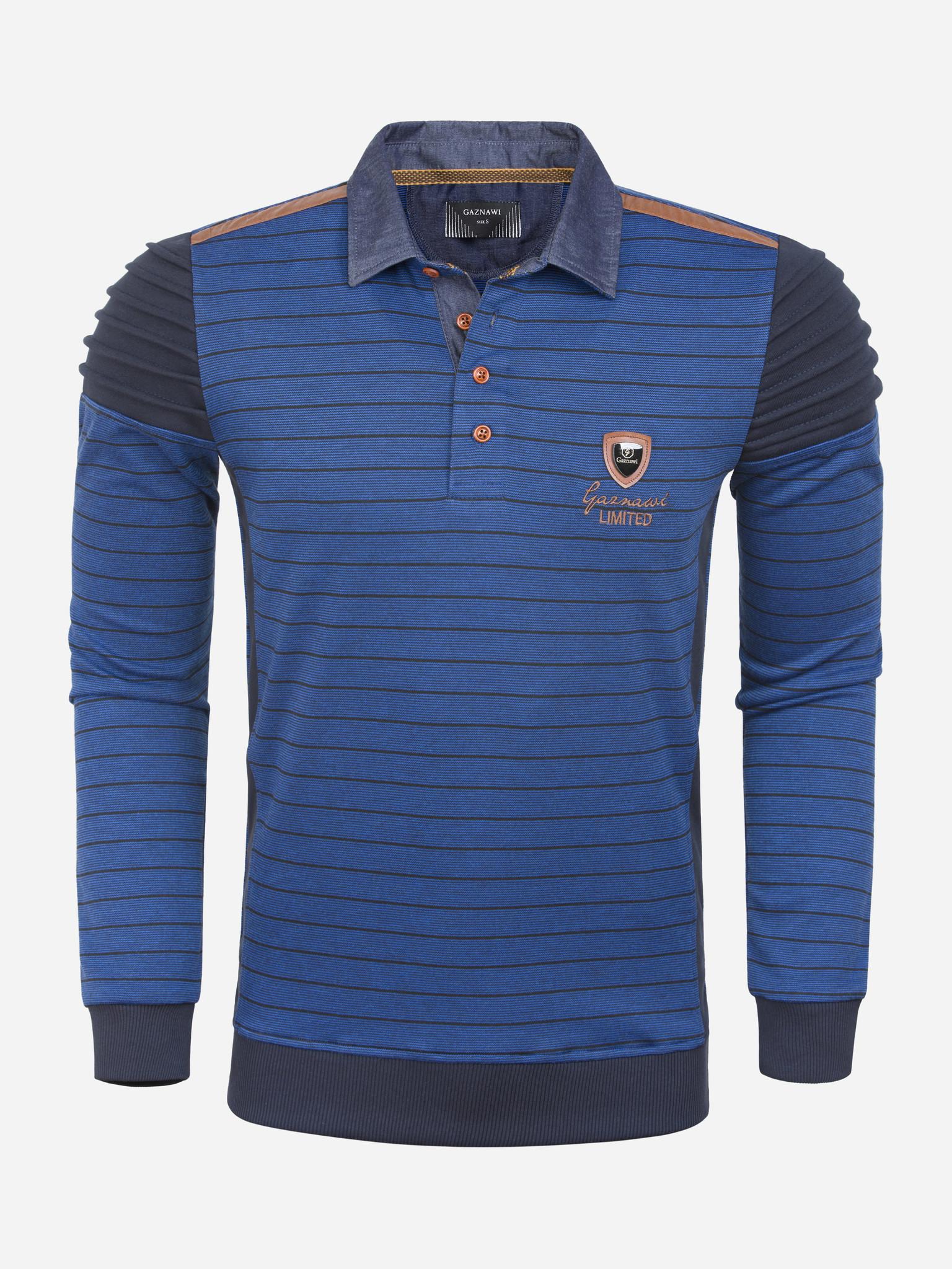 Gaznawi Sweater 66094 Royal Blue Maat: 4XL