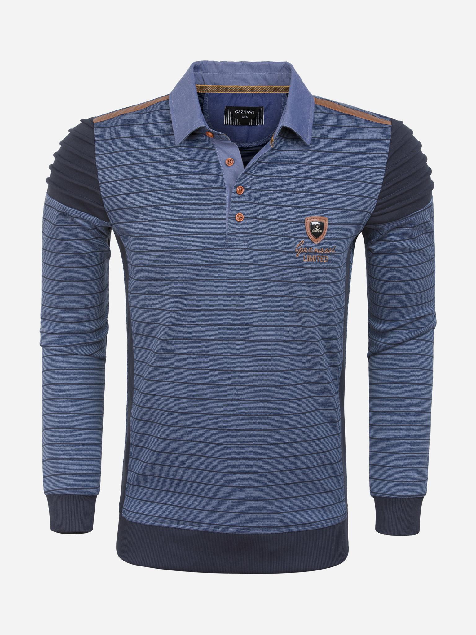 Gaznawi Sweater 66094 Navy Maat: 4XL