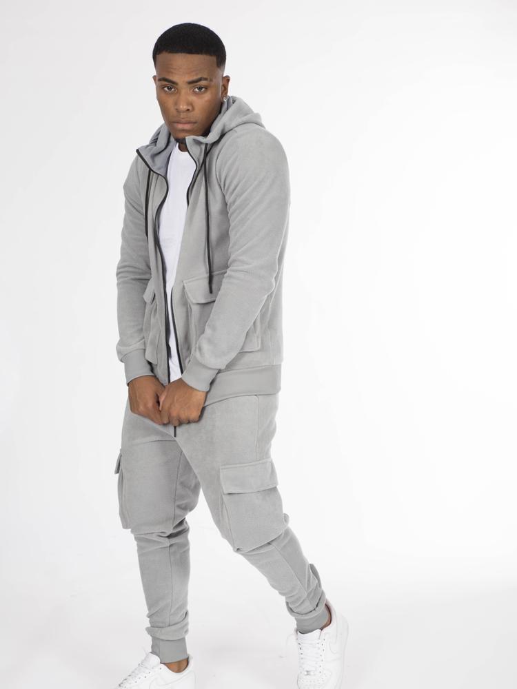 Wam Denim AARJ248 Joggingpak Grey Maat: XL