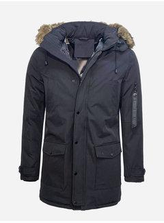 Arya Boy Winter Coat PI-7102 Black