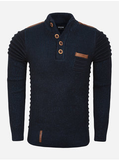 Wam Denim Sweater 77512 Monclova Navy Indigo