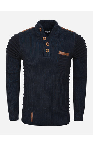 Wam Denim Sweater 77512 Monclova Navy Indigo