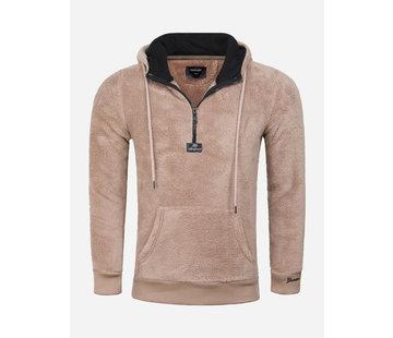 Gaznawi Teddy Bear Hoody/Sweater 66105 Beige
