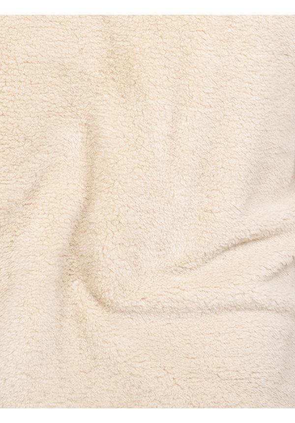 Teddy Bear Fleece Hoody/Sweater 66102 Off White