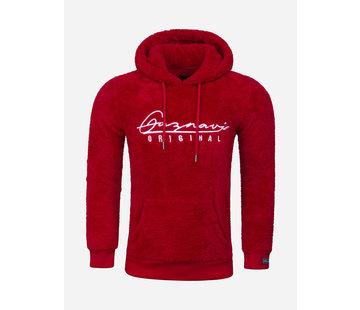 Arya Boy Teddy Bear Hoody/Sweater 66103 Red